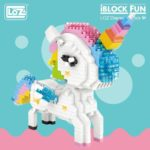 Jouet iBlock toy game figurine kids children animal animaux unicorn fille girl mignon cute Kawaii meilleur best site boutique shop tableau art artiste peinture canvas service 3d model 2019