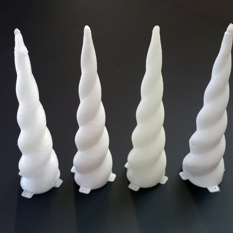 Corne de Licorne impression 3d model service a la demande Horn of Unicorn printing 3d model service on demand fille girl mignon cute Kawaii meilleur best site boutique shop 2019