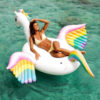 Licornes géante unicornhuge hugeunicorn plage beach inflatable swimming pool figurine fille femme girl women summer wear clothing animal animaux unicorn fille girl mignon cute Kawaii meilleur best site boutique shop 2019