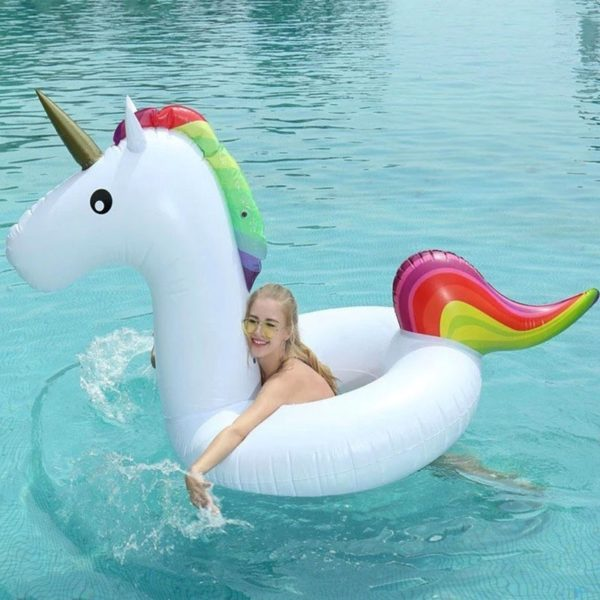 Licorne plage beach inflatable swimming pool figurine fille femme girl women summer wear clothing animal animaux unicorn fille girl mignon cute Kawaii meilleur best site boutique shop 2019