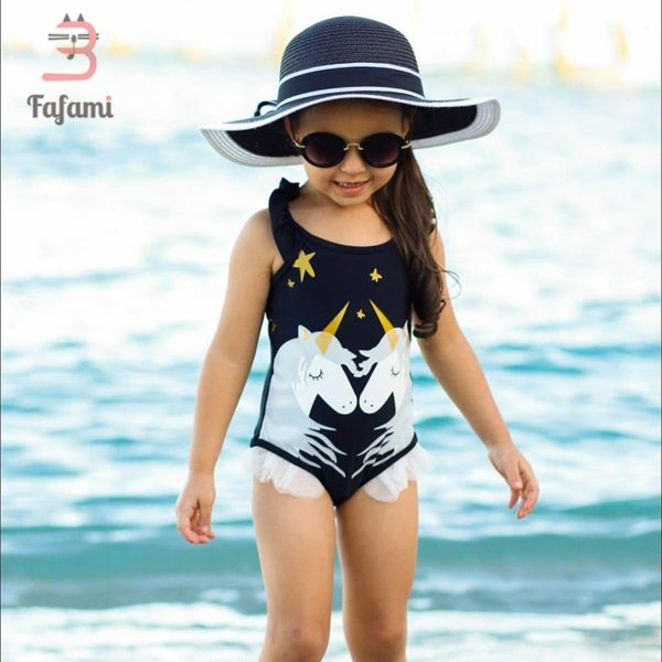 Bébé Maillot de bain Swim beach towel Licornes plage beach swimming pool fille femme girl women summer unicorn fille girl mignon cute Kawaii meilleur best site boutique shop 2019