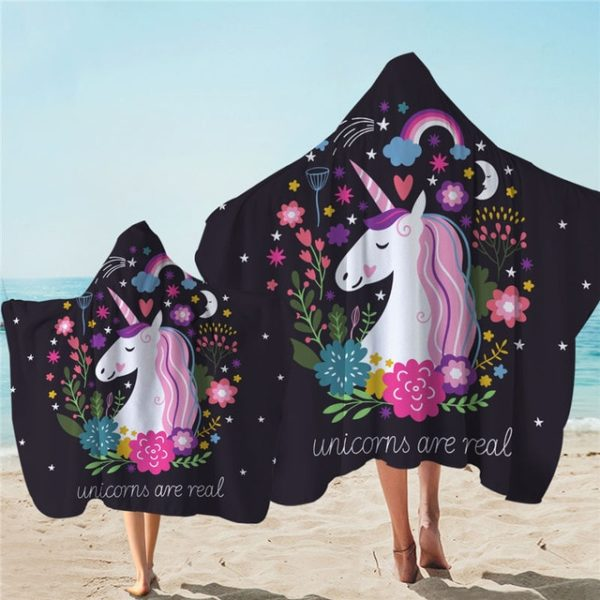 Vêtement Plage Swim beach towel Licornes plage beach swimming pool fille femme girl women summer unicorn fille girl mignon cute Kawaii meilleur best site boutique shop 2019