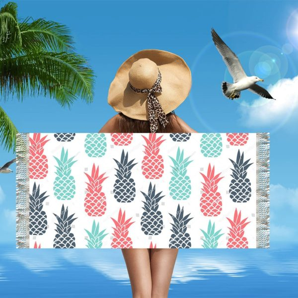 Serviette de Plage Swim beach towel Licornes plage beach swimming pool fille femme girl women summer unicorn fille girl mignon cute Kawaii meilleur best site boutique shop 2019