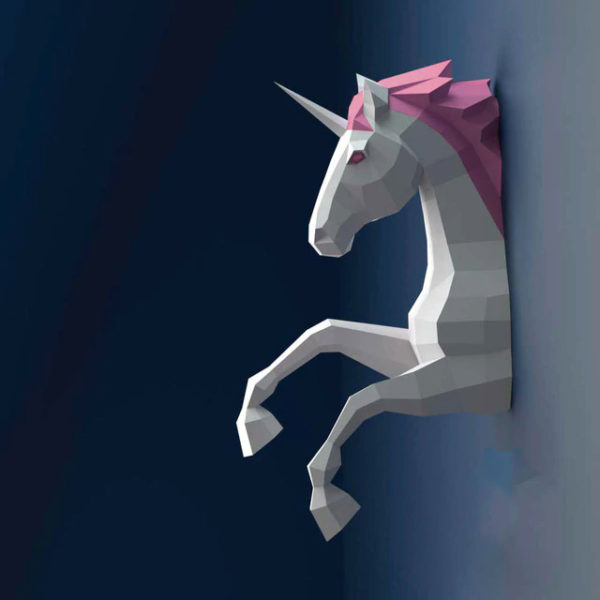 Licorne Papier papercraft papertoy figurine fille femme girl women summer wear clothing animal animaux unicorn fille girl mignon cute Kawaii meilleur best site boutique shop 2019