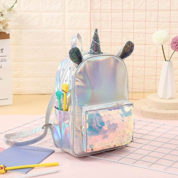 Sac a Dos backpack bag arc-en-ciel rainbow licorne décoration fille femme girl women summer unicorn fille girl mignon cute Kawaii meilleur best site boutique shop 2020