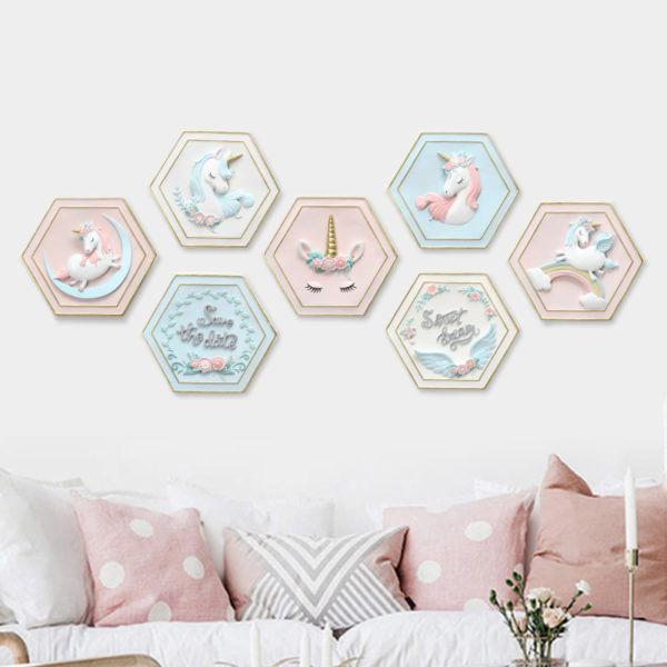 Décoration Murale deco wall arc-en-ciel rainbow licorne décoration fille femme girl women summer unicorn fille girl mignon cute Kawaii meilleur best site boutique shop 2020