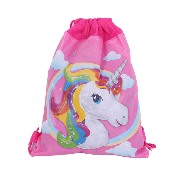 Tote Bag sac a cordon arc-en-ciel rainbow licorne fille femme girl women summer unicorn fille girl mignon cute Kawaii meilleur best site boutique shop 2020