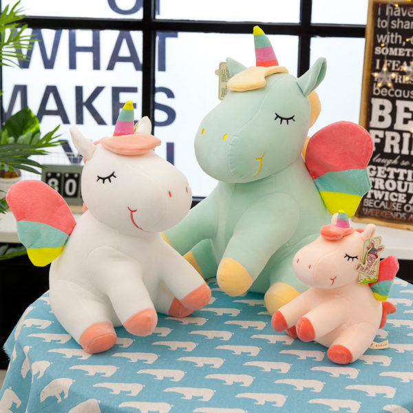Peluche Licorne Unicorn plush chambre bedroom arc-en-ciel rainbow fille femme girl women summer unicorn fille girl mignon cute Kawaii meilleur best site boutique shop 2020