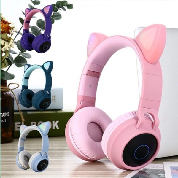 Casque Licorne chat bluetooth haedphone cat arc-en-ciel rainbow licorne fille femme girl women summer unicorn fille girl mignon cute Kawaii meilleur best site boutique shop 2020