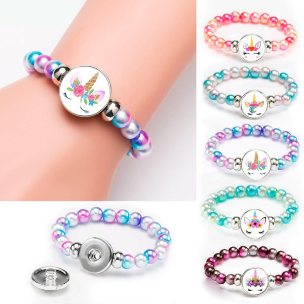 Bracelets Licorne Unicorn arc-en-ciel rainbow fille femme girl women summer unicorn fille girl mignon cute Kawaii meilleur best site boutique shop 2020