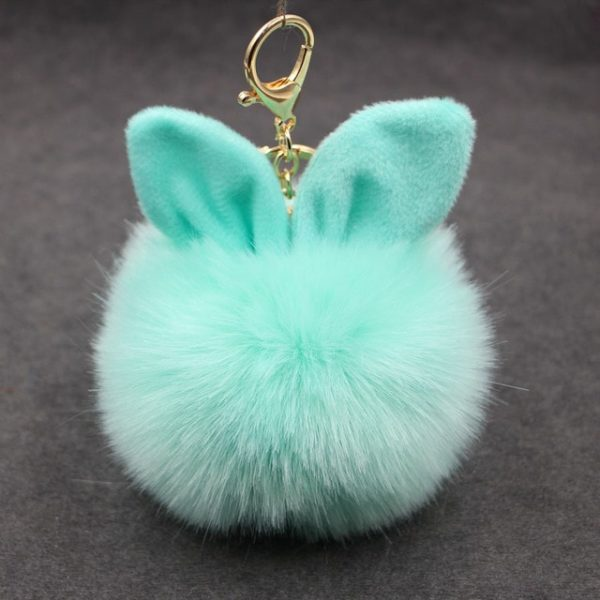 Portes-Clés keychain Pompon fourrure fur cadeau gift femme women summer unicorn fille girl mignon cute Kawaii meilleur best site boutique shop 2020