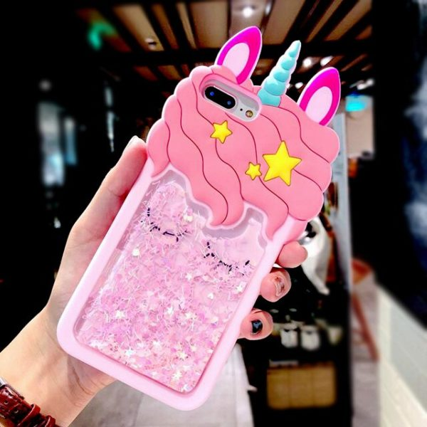 Coque Téléphone iphone case Silicone strass cadeau gift femme women summer unicorn fille girl mignon cute Kawaii meilleur best site boutique shop 2020